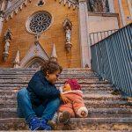 Santuario della Madonna della Corona trekking con i bambini