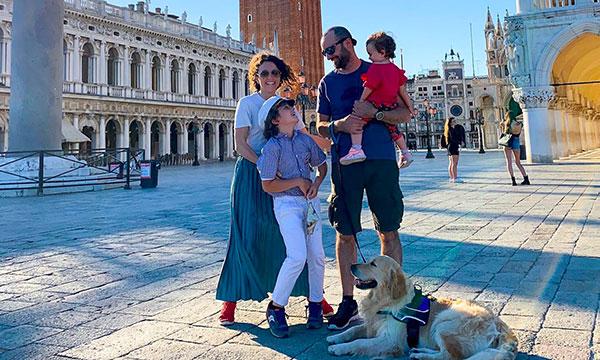 famiglia a venezia