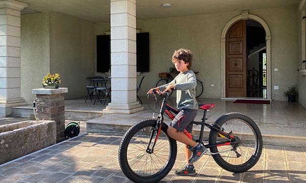 Villa verona Bike Viaggiapiccoli