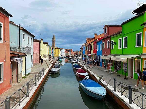 casette colorate a Burano