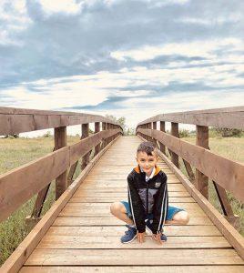 Oasi Naturale di Porto Caleri con i bambini percorso blu