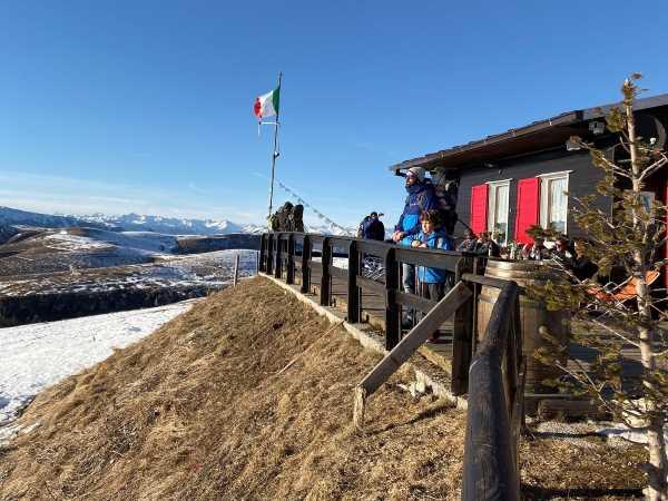 rifugio Lessinia inverno