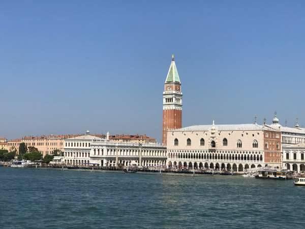 venezia palazzo ducale e campanile