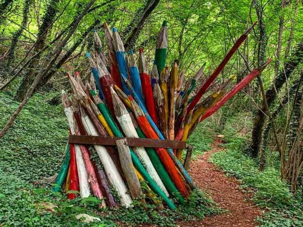 Trekking al Parco del Sojo con i bambini: tra Arte e Natura