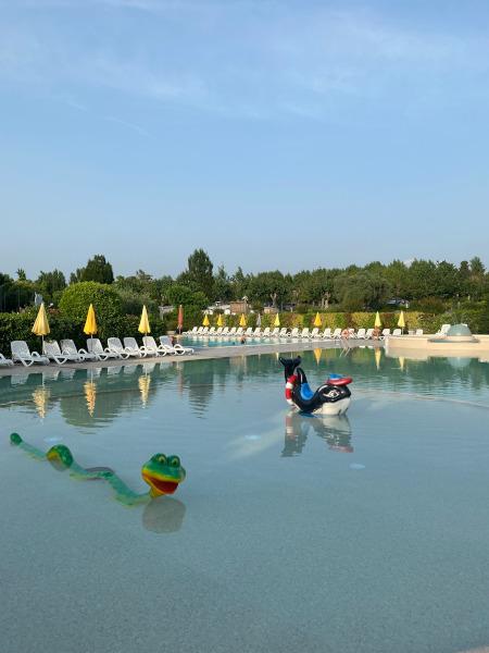 piscina Camping Le Palme