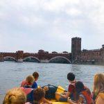 rafting sul fiume